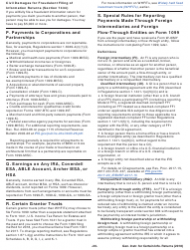 Instructions for IRS Form 1096, Form 1097, Form 1098, Form 1099, Form 3921, Form 3922, Form 5498, Form W-2g - General Instructions for Certain Information Returns 2018, Page 20