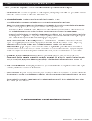 """Form DOH-799 """"Wic Medical Referral Form"""" - New York, Page 2"""