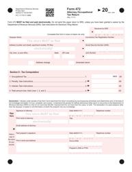 "Form 742 ""Attorney Occupational Tax Return"" - Connecticut"