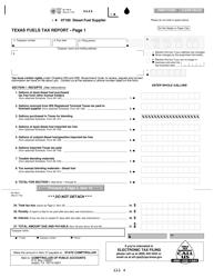 Form 06-168-A Texas Fuels Tax Report - Texas