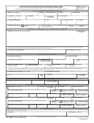 DD Form 1172-2 Application for Identification Card/DEERS Enrollment