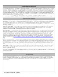 DD Form 1172-2 Application for Identification Card/DEERS Enrollment, Page 2