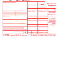 IRS Form 1099-DIV Download Fillable PDF 2018, Dividends and