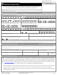 """VA Form 21P-535 """"Application for Dependency and Indemnity Compensation by Parent(S)"""", Page 3"""
