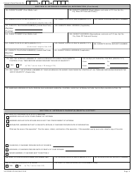 """VA Form 21P-535 """"Application for Dependency and Indemnity Compensation by Parent(S)"""", Page 4"""