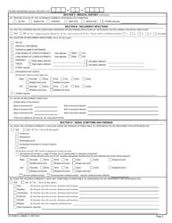 VA Form 21-0960M-11 Download Fillable PDF, Osteomyelitis