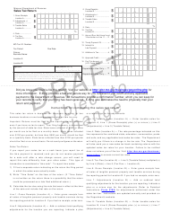 "Form 4814 ""Sales Tax Return - Draft"" - Missouri"