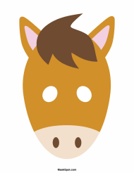 """""""Horse Mask Template"""""""