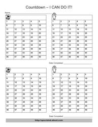 """Daily Countdown Chart"""