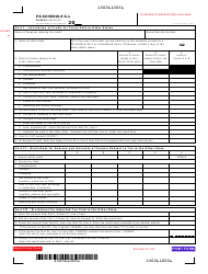 Form PA-40 Schedule G-L - Resident Credit for Taxes Paid - Pennsylvania