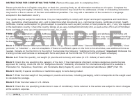 "PS Form 2976-A ""Customs Declaration and Dispatch Note - Sample"""