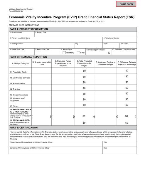Form 4972 Printable Pdf