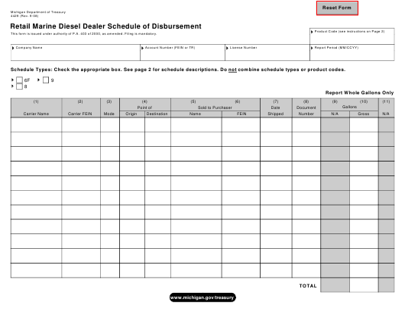Form 4429  Printable Pdf