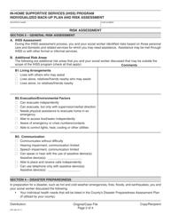 form soc 864 download fillable pdf in home supportive. Black Bedroom Furniture Sets. Home Design Ideas
