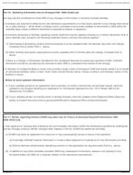 """Form LIC606 """"Residential Care Facility for the Elderly Disclosure Worksheet"""" - California, Page 5"""
