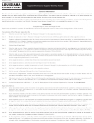 Instructions for Form R-5397 - Supplier/Permissive Supplier Monthly Return