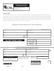 Form R-9100 Oil Severance Tax Electronic Filing Payment Voucher - Louisiana