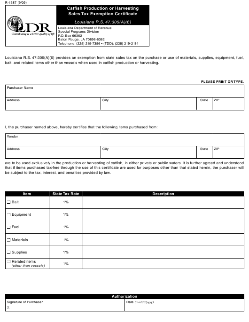 Form R-1387 Fillable Pdf