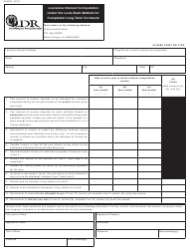 Form R-8697 Louisiana Interest Computation Under the Look-Back Method for Completed Long-Term Contracts - Louisiana