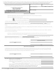 """Form 817 """"Final Inventory - Telephone Force Account Construction"""""""