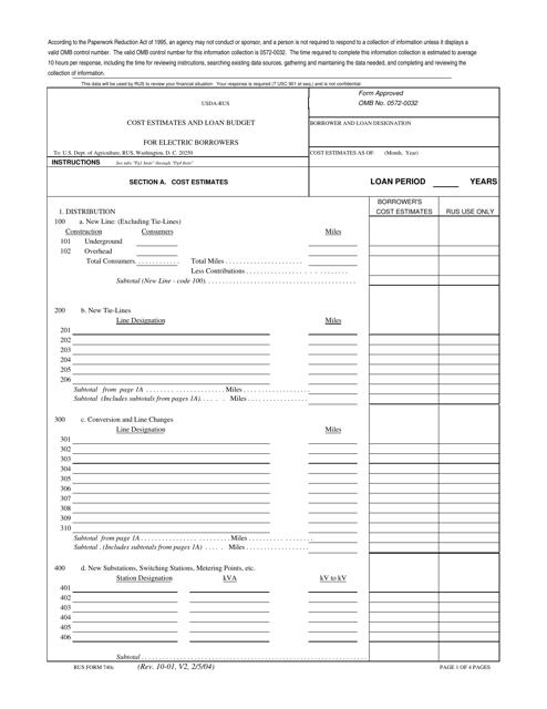 Form 740C  Printable Pdf
