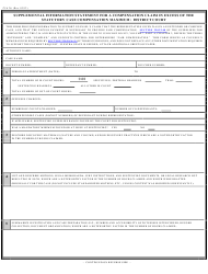 Form CJA 26 Supplemental Information Statement for a Compensation Claim in Excess of the Statutory Case Compensation Maximum