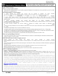 VA Form 10-10EC Application for Extended Care Services