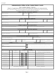 Form WT-2A Report of Application and/Or Order Authorizing Interception of Communications
