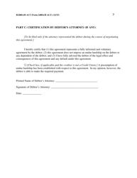 "Form B2400A/B ALT ""Reaffirmation Agreement"", Page 7"