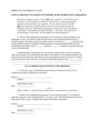 "Form B2400A/B ALT ""Reaffirmation Agreement"", Page 8"