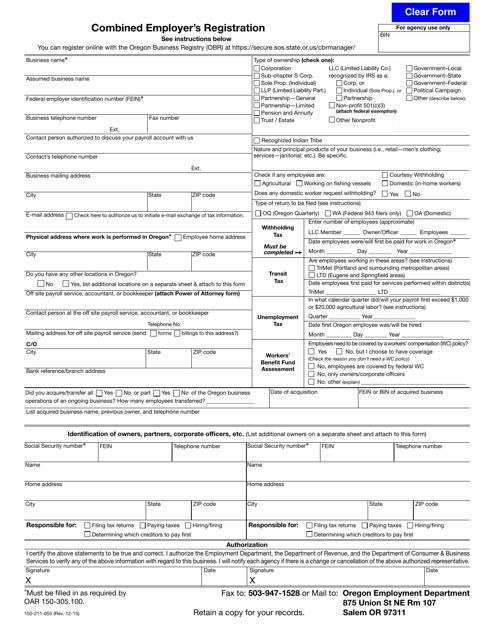 Form 150-211-055  Printable Pdf