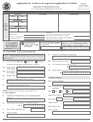 USCIS Form I-824 Application for Action on an Approved Application or Petition
