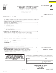 Form HW-3 Employer's Annual Return and Reconciliation of Hawaii Income Tax Withheld From Wages - Hawaii