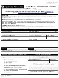 VA Form 10-7959f-2 Foreign Medical Program (Fmp) Claim Cover Sheet
