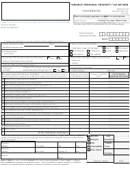 Form DR-405 Tangible Personal Property Tax Return - Florida