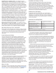 Instructions for IRS Form 1097-btc - Bond Tax Credit 2018, Page 2