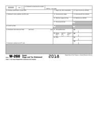 IRS Form W-2GU 2018 Guam Wage and Tax Statement, Page 3