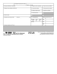 IRS Form W-2GU 2018 Guam Wage and Tax Statement, Page 6