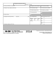 IRS Form W-2VI 2018 U.S. Virgin Islands Wage and Tax Statement, Page 4