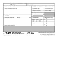 IRS Form W-2VI 2018 U.S. Virgin Islands Wage and Tax Statement, Page 8