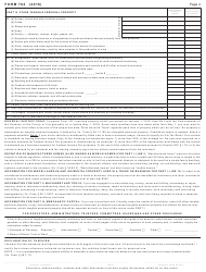 Form 762 2018 Return of Tangible Personal Property, Machinery and Tools, and Merchants' Capital - Virginia, Page 2