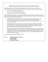Form 770-PMT 2017 Payment Coupon - Virginia