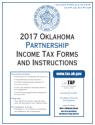 2017 Oklahoma Partnership Income Tax Forms and Instructions - Oklahoma