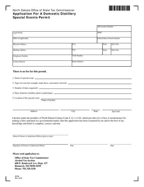 Form 24152 Printable Pdf