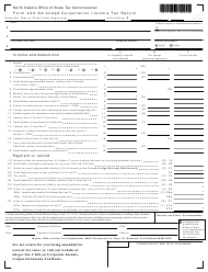 Form L 02 Form 40x - Amended Corporation Income Tax Return - North Dakota