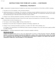 Form 607 2018 Report of Assessment Roll Changes and Classification - Michigan, Page 3