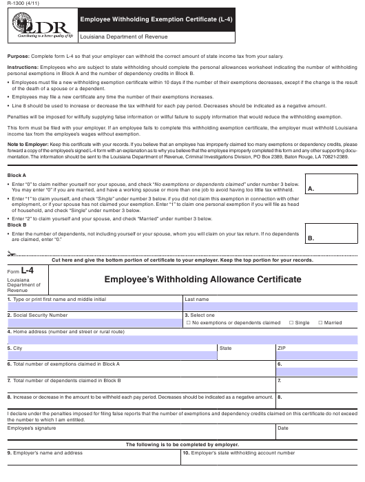 Form R-1300 Fillable Pdf