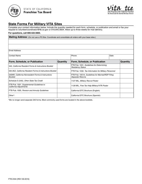 schedule ca 540nr instructions 2016