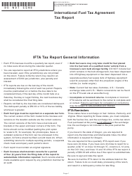 "Form DR0122 ""International Fuel Tax Agreement Tax Report"" - Colorado"