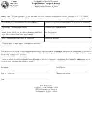 State Form 50861 Form Mcs-Nc - Legal Name Change Affidavit - Indiana